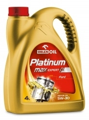 PLATINUM MAX EXPERT F 5W-30 4L