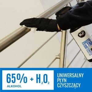 UNIWERSALNY ŚRODEK PŁYN CZYSZCZĄCY 65% ALKOHOL ETYLOWY COROTOL ULTRA K2 1L