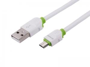 KABEL MYWAY DO ŁADOWANIA I SYNCHRONIZACJI SILIKONOWY OKRĄGŁY 100CM USB-MICRO USB