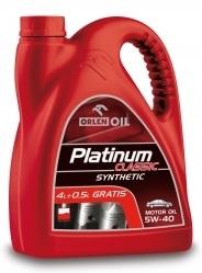 PLATINUM CLASSIC SYNTHETIC 5W-40 4,5 L