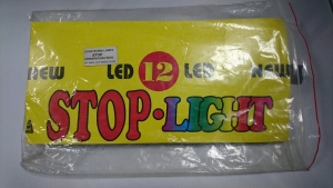 DODATKOWA LAMPA WEWNĘTRZNA STOP - 12 LED CZERWONA
