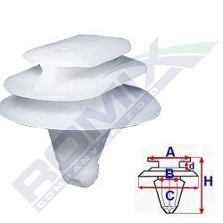 SPINKA LISTWY - RENAULT CLIO II