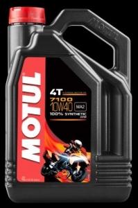 OLEJ MOTUL 7100 MA2 ESTER 10W40 4L API:SL/SJ/SH/SG JASO:MA2 4T MOTOCYKLOWY SYNTETYK 4L
