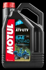 OLEJ MOTUL ATV UTV 4T 10W40 4L