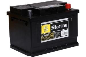 AKUMULATOR 12V 60AH/540A P+ STARLINE 242*175*175