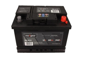 AKUMULATOR MAXGEAR 12V 60AH 540A P+
