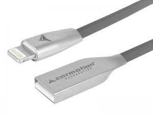 KABEL DO ŁADOWANIA I SYNCHRONIZACJI 120CM USB - APPLE IPHONE SZARY