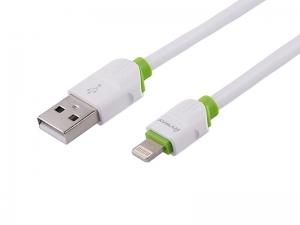 KABEL MYWAY DO ŁADOWANIA I SYNCHRONIZACJI SILIKONOWY OKRĄGŁY 100CM USB-LIGHTNING