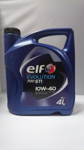 OLEJ ELF EVOLUTION 700 STI 10W-40 4 L