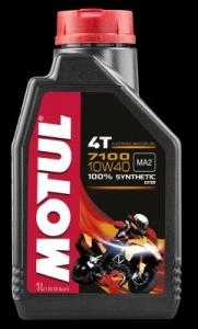 OLEJ MOTUL 7100 MA2 ESTER 10W40 1L API:SL/SJ/SH/SG JASO:MA2 4T MOTOCYKLOWY SYNTETYK 1L MOTUL