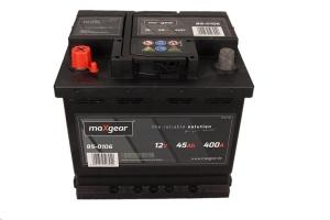 AKUMULATOR MAXGEAR 12V 45AH 400A L+