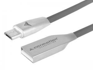 KABEL DO ŁADOWANIA I SYNCHRONIZACJI 120CM USB - USB-C   SZARY