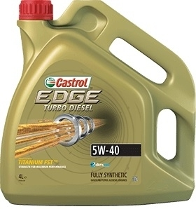CASTROL EDGE TURBO DIESEL 5W-40 4 L