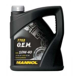 MANNOL 7702 O.E.M. 10W-40 API SL/CF 5 L