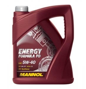 MANNOL ENERGY FORMULA PD 5W-40 API SN/CF 4L
