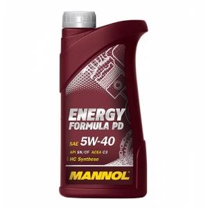 MANNOL ENERGY FORMULA PD 5W-40 API SN/CF 1L