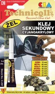 KLEJ SEKUNDOWY - ŻEL 2 G
