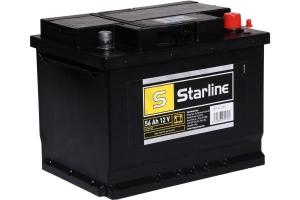 AKUMULATOR 12V 56AH/480A P+ STARLINE 242*175*190