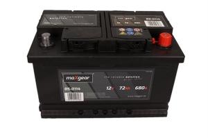 AKUMULATOR MAXGEAR 12V 72AH 680A P+