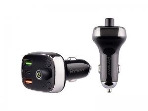 TRANSMITER FM 12/24V Z USB-C PD AUTO-ID + WOLTOMIERZ MYWAY