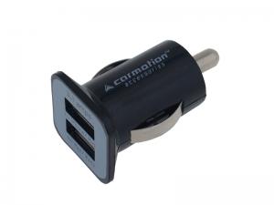 ŁADOWARKA 2 * USB 3100 mA DO GNIAZDA ZAPALNICZKI 12/24V