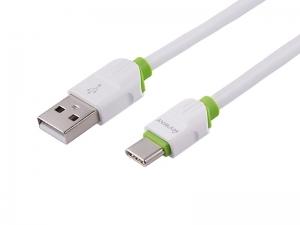 KABEL MYWAY DO ŁADOWANIA I SYNCHRONIZACJI SILIKONOWY OKRĄGŁY 100CM USB-USB-C